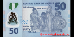 Nigeria - p40b - 50 Naira - 2011 - Central Bank of Nigeria
