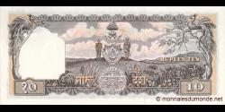Nepal - p10a - 10Mohru - ND (1956-61) - Nepal Rastra Bank