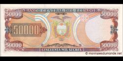 Equateur - p130d - 50.000 Sucres - 12.07.1999 - Banco Central del Ecuador