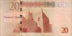Lybie - p79 - 20 dinar - ND (2013) - Central Bank of Libya