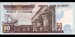 Egypte - p66g - 50 pounds - 15.02.2016 - Central Bank of Egypt