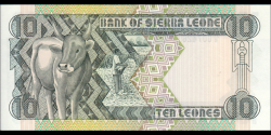 Sierra - Leone - p15 - 10 Leones - 27.04.1988 - Bank of Sierra Leone