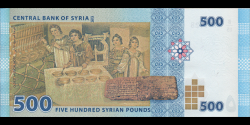 Syrie - p115 - 500 Syrian Pounds - 2013 - Central Bank of Syria