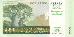 Madagascar - p-093 - 2.000 ariary - 2007 - Banky Foiben'i Madagasikara