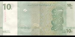 Congo - RD - p087B - 10 francs - 01.11.1997 - Banque Centrale du Congo