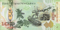 Papouasie-Nouvelle-Guinée - p37 - 100 Kina - 2008 - Bank of Papua New Guinea