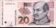 Croatie - p39b - 20 Kuna - 09.07.2012 - Hrvatska Narodna Banka