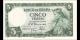 Espagne - p146 - 5Pesetas - 22.07.1954 - Banco de España