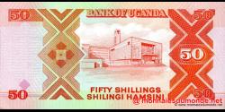 Ouganda - p30c - 50 Shillings - 1998 - Bank of Uganda