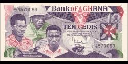 Ghana - p23 - 10 cedis - 15.05.1984 - Bank of Ghana