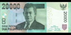 Indonésie - p151f2 - 20.000Roupies - 2016 - Bank Indonesia