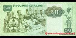angola - p118 - 50 kwanzas - 07.01.1984 - Banco Nacional de Angola