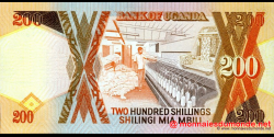 Ouganda - p32b - 200 Shillings - 1994 - Bank of Uganda
