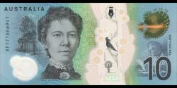 Australie - p63a - 10Dollars - 2017 - Reserve Bank of Australia