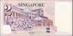Singapour - p46k - 2 Dollars - 2017 - Monetary Authority of Singapore