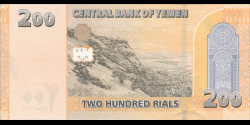 Yémen - p38 - 200 Rials - 2018 - Central Bank of Yemen