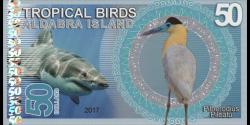 Iles Aldabra, 50 dollars, 2017