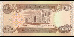 Irak - p104 - 1000 Dinars - 2018 - Central Bank of Iraq