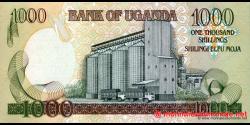 Ouganda - p43a - 1.000 Shillings - 2005 - Bank of Uganda