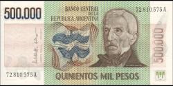 Argentine - p309b - 500.000 Pesos - ND (1980 - 1983) - Banco Central de la República Argentina