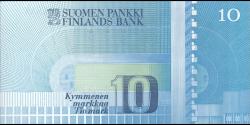Finlande - p113a34 - 10 Markkaa - 1986 - Suomen Pankki / Finlands Bank