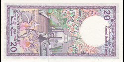 Ceylan - p093b - 20 Roupies - 01.01.1985 - Central Bank of Ceylon