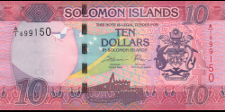 Salomon - p33a - 10 Dollars - ND (2017) - Central Bank of Solomon Islands