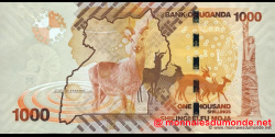 Ouganda - p49 - 1.000 Shillings - 2010 - Bank of Uganda