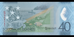 Salomon - pNew - 40 Dollars - 2018 - Central Bank of Solomon Islands