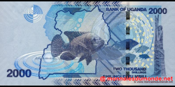 Ouganda - p50 - 2.000 Shillings - 2010 - Bank of Uganda