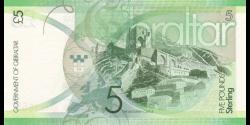 Gibraltar - p35 - 5 Pounds - 01.01.2011 - Government of Gibraltar