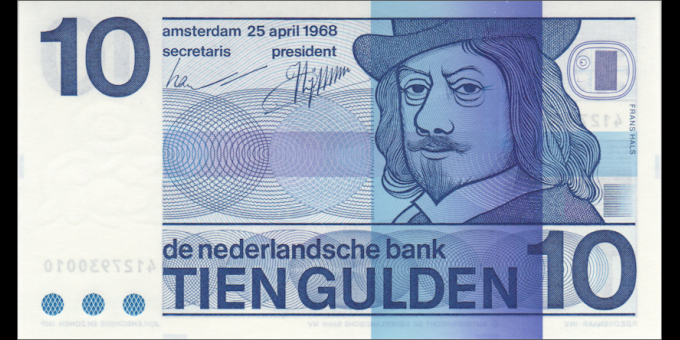 Pays-Bas - p91b - 10 gulden - 25.04.1968 - Nederlandsche Bank