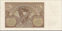Pologne - p094 - 10 Złotych - 01.03.1940 - Bank Emisyjny w Polsce
