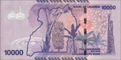 Ouganda - p52d - 10.000 Shillings - 2015 - Bank of Uganda