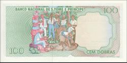 São Tomé-et-Príncipe - p60 - 100 Dobras - 1989 - Banco Nacional de S. Tomé e Príncipe