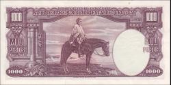 Uruguay - p41c1 - 1000 pesos - 1939 - Departamento de Emisión del Banco de la República Oriental del Uruguay