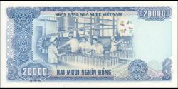 Viêt Nam - p110 - 20.000Ðồng - 1991 - Ngân Hàng Nhà Nu'ớc Việt Nam (State Bank of Viêt Nam)