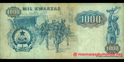 angola - p121a - 1000 kwanzas - 07.01.1984 - Banco Nacional de Angola