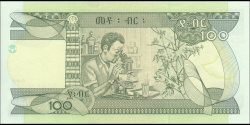 Éthiopie - p52g - 100 birr - 2015 - National Bank of Ethiopia
