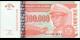Zaire - p76 - 100.000 Nouveaux Zaïres - 30.06.1996 - Banque du Zaïre