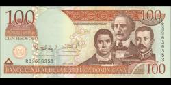 République Dominicaine - p177a - 100 Pesos Dominicanos - 2006 - Banco Central de la República Dominicana
