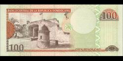 République Dominicaine - p177a - 100 Pesos oro- 2006 - Banco Central de la República Dominicana