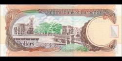 Barbade - p68c - 10 Dollars - 2012 - Central Bank of Barbados