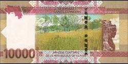 Guinée - pnew - 10.000 francs - 2018 - Banque Centrale de la République de Guinée