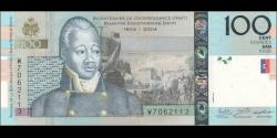 Haïti - p275f - 100Gourdes / Goud - 2016 - Banque de la République d'Haïti / Bank Repiblik Dayiti