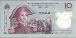 Haïti - p279a - 10Gourdes / Goud - 2013 - Banque de la République d'Haïti / Bank Repiblik Dayiti
