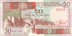Somalie - p34d - 50 Shilin Soomaali - 1989 - Bankiga Dhexe ee Soomaaliya