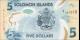 Salomon - p38 - 5Dollars - 2019 - Central Bank of Solomon Islands