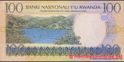 Rwanda - p29b - 100 Francs - 01.09.2003 - Banque Nationale du Rwanda / Banki Nasiyonali y'u Rwanda / National Bank of Rwanda