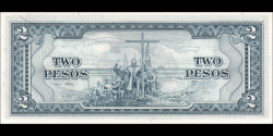Philippines - p134d - 2 Pesos - ND (1969) - Central Bank of the Philippines